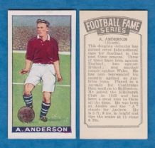 Hearts of Midlothian Andy Anderson Scotland